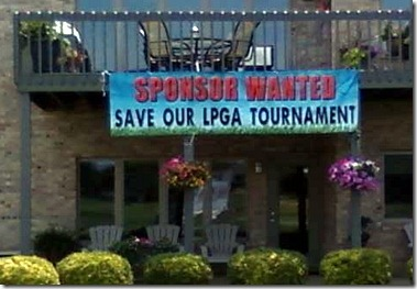 save our tournament sign